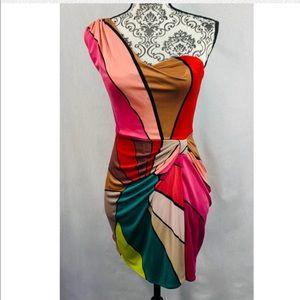 Issa London One Shoulder Mini Dress